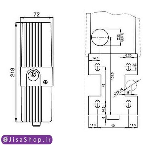خرید قفل برقی بی اف تی BFT EBP 220V