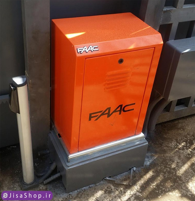 خرید و نصب جک برقی کشویی Faac 884 MC 3PH